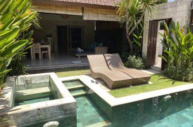 villa's outdoor view