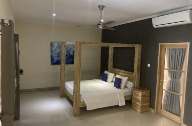 bedroom area with air-condition
