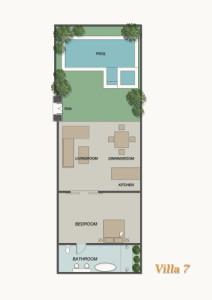 layout villa 7